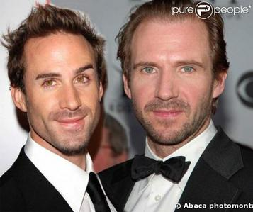 Joseph and Ralph Fiennes<3