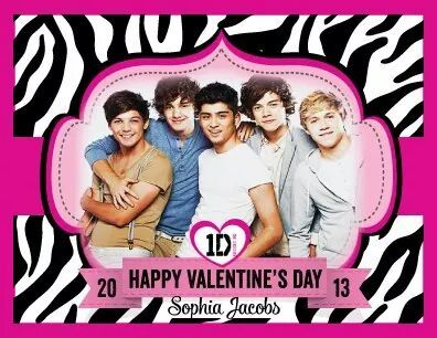 Valentines دن for 1d about 2-3 years پہلے یا something
