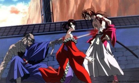 Shishiyo killed Yumi during the battle between Shishiyo and Kenshin from Rurouni Kenshin