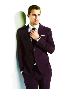 Theo James,who I kind of recently found earlier this an after seeing him in Divergent<3