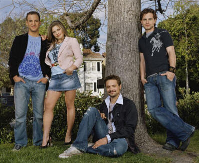 Rider and his co stars wearing denim :)