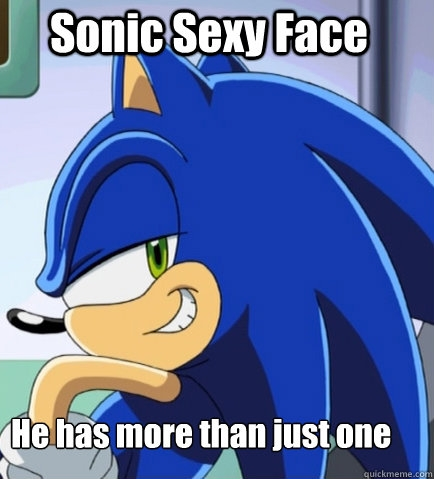 If Sonic asked tu to kiss him, would you?