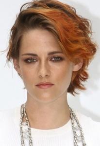 Kristen with short hair<3