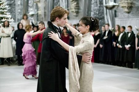 my dashing dancer gettin' jiggy with it in a scene from HP/GOF with Katie Leung<3