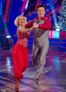 John on Strictly Come Dancing!