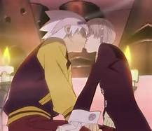 ugh.. they need to.. it kills me every time i watch the series... They're so perfect together... the feels kill me.. hence my username... XD THAT ONES FOR wewe SOUL AND MAKA. JUST upendo EACH OTHER ALREADY...they know they want to...
