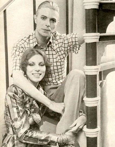 Bowie and his ex-wife Angie