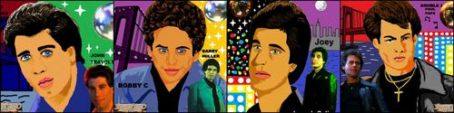 My SNF cast drawing from paint :)