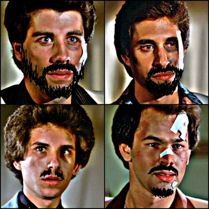 My ترمیم of the guys with facial hair :)