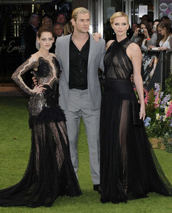 Chris with his SWATH beauties at the UK premiere of SWATH<3