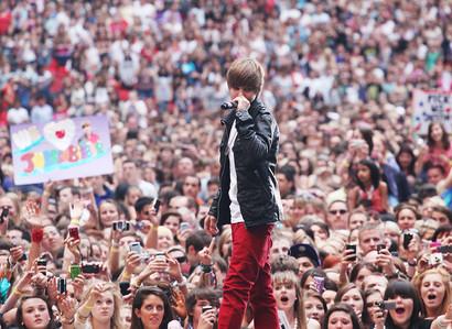 Justin at Summertime Ball.