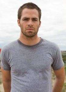 Chris Pine with short hair<3