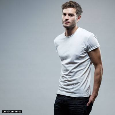 Jamie in a white t-shirt<3