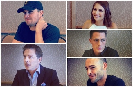 the cast of Arrow<3