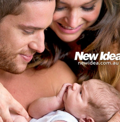 Dan Ewing and Marni Ewing with there son, Archer<3