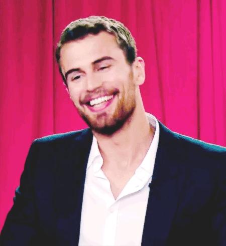 Theo's gorgeous smile<3