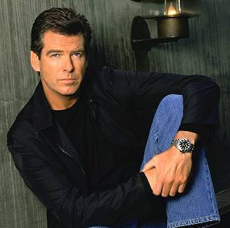 the distinguished Pierce Brosnan<3