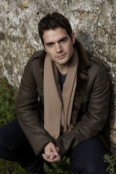 Henry wearing a scarf<3