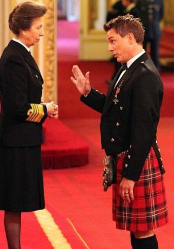 John getting his MBE :D