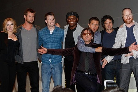 the coolest cast of superheros EVER...The Avengers<3