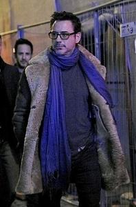 RDJ in a scarf<3
