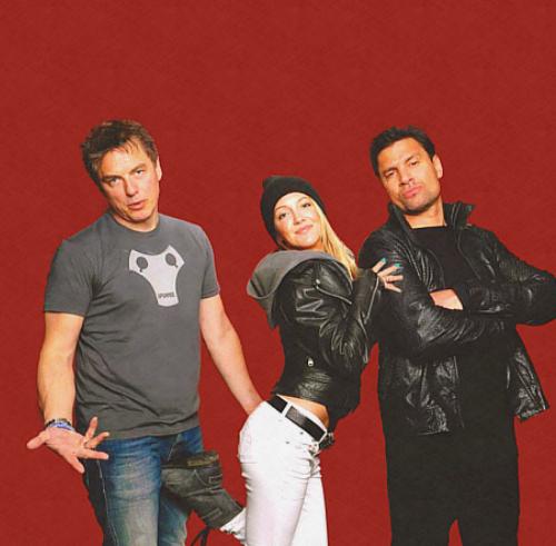 John, Katie, Manu