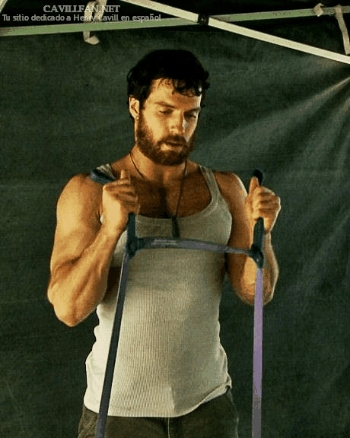 Henry's hot muscles<3