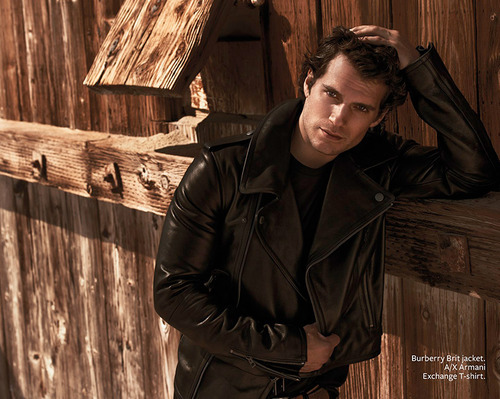 Henry looking hot in leather<3