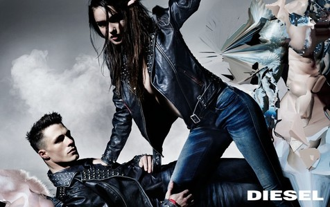 Colton for Diesel jeans<3