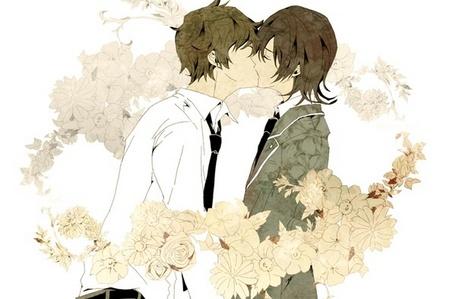 Not a canon pairing but Tohru Mutou & Natsuno Yuuki / Koide from [i]Shiki[/i] is my shounen-ai / &#34;yaoi&#34; OTP. <3