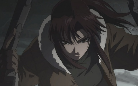 Revy from Black Bullet [ although I have green eyes ]