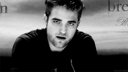 Robert with a hot annoyed look on his gorgeous face<3