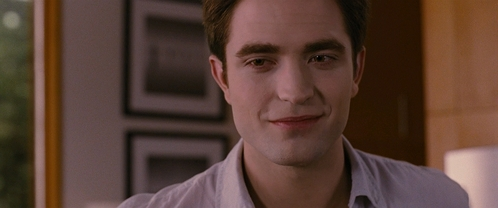 my gorgeous Robert inside a house from a scene in BD 2<3
