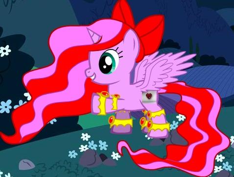 none of real ponys ill be princess hearts elament of Любовь