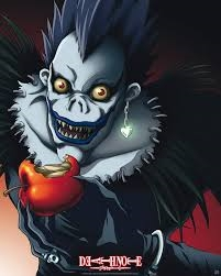 whenever Ryuk is sometimes nice and silly cx heheheh I love Ryuk, he's cool looking and very scary :D