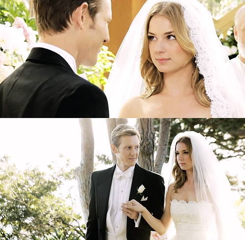 now someone try and tell my that wasn't a Nemily wedding