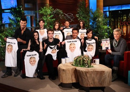 Twilight cast on Ellen<3