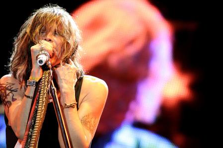 Steven Tyler singing:)