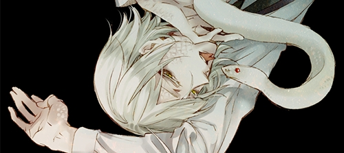 Snake from Black Butler: Book Of Circus ............Back off fangirls he's mine :P