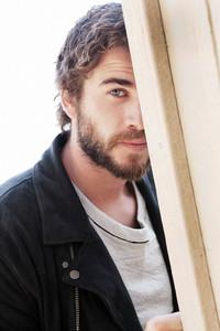 Liam with a beard<3