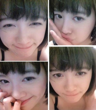 ku hye sun!!! Look at her face without any make-up on her face. She looks much younger, about five years, I think. She manages really well with her hair style and keeps her face clean for her age.The staffs of Boys over ফুলেরডালি surprise to see her really lightly make up face. She doesn't make up her face not only on TV but also in her everyday life. The reason is that she plays a high school girl character and her habit makes her not to do that also. She has the unbelievably milky face color that doesn't require cosmetics.The drama staff ব্যক্ত that it is rare to find female stars who don't make up on their face like her. He doesn't need her to do that because of her young girl role. He also ব্যক্ত her great skin looks great on screen without make up. Although it really requires, she put only minimal. I don't think they could find someone who has better skin than hers.
