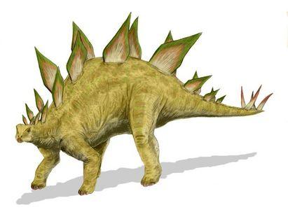 A stegosaurus :D