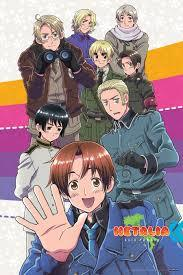 HETALIA!!!!! It's my お気に入り アニメ and it's super-funny. The first episode is a bit confusing at first, but it's hilarious once あなた get into it. The first series is Axis Powers, then World Series, and the newest is Beautiful World. I suggest あなた go in order. It's beautiful and hilarious, and it has the most stereotypes あなた will ever see in an アニメ ever.