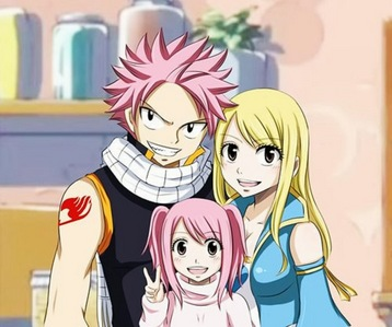 We do not for sure. But Mashima said in an interview that the union of Lucy and Natsu would give birth to a child named Nashi: http://dsm164.deviantart.com/journal/HIRO-MASHIMA-BARCELONA-2012-INTERVIEW-NASHI-337033478