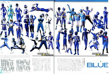 i would like to be a power ranger. i would be like to be all of the blue rangers. kind of like a super mega power ranger.