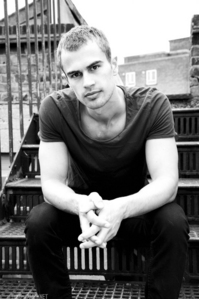 hot Theo in b&w<3
