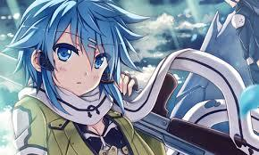 I wanna be Sinon from Sword Art Online! She is so pretty and strong~ <3