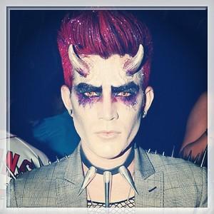Adam in a costume<3