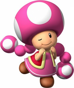 Toadette because she is really cute.
