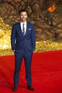 Aidan Turner in a suit<3